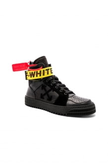 Off-White Industrial Hi-Top Sneakers