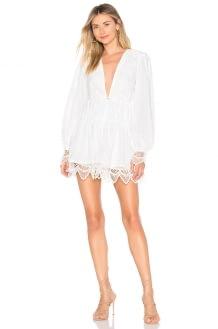 Chrissy Teigen Coconut Cream Dress