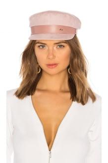 Don Paris Suede Sailor Cap