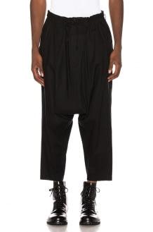 YOHJI YAMAMOTO Drop Crotch Trouser