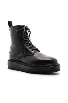 Sacai Leather Derby Boots