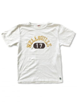 Free Rage Free Rage Recycled Cotton Vintage Tee Well Sville White