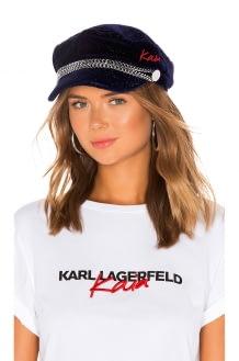 KARL X KAIA Velvet Cap