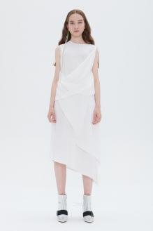 Shopatvelvet Synthesis Dress White