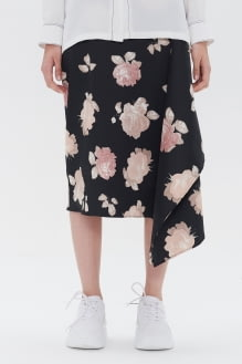 Shopatvelvet Dark Rose Skirt