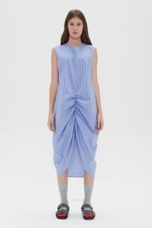 Shopatvelvet Draw Dress Blue