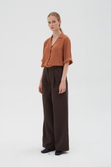 Shopatvelvet Ease Shirt Brown