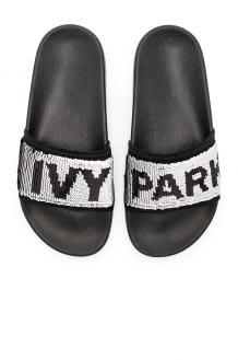 Ivy Park Sequin Slider