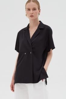 Shopatvelvet Sid top Black