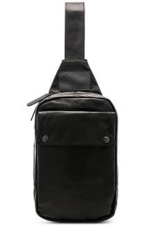 YOHJI YAMAMOTO Leather Sling Bag
