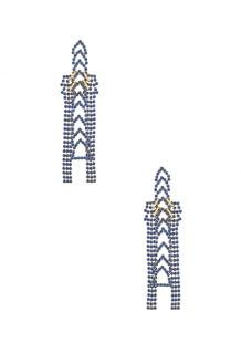 LARUICCI Crystal Chain Earrings