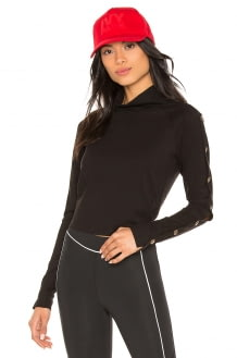 Ivy Park Armour Poppers Top