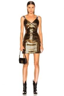 Sandra Mansour Soleil Brillant Mini Dress