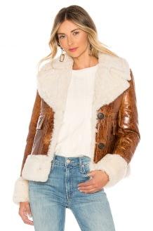 Yves Salomon - Meteo Lamb Leather Jacket