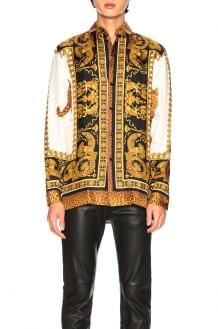 Versace Wild Signature Silk Shirt