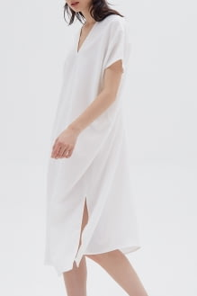 Shopatvelvet Elevation Dress White