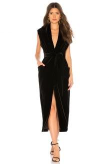 Sabina Musayev Iris Velvet Dress