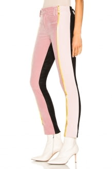 Haider Ackermann Side Stripe Two Tone Trousers