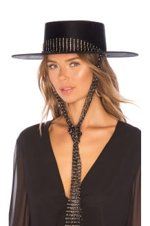 Bijou Van Ness The Queen Swarovski Crystals Hat