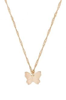 Frasier Sterling Butterfly Necklace