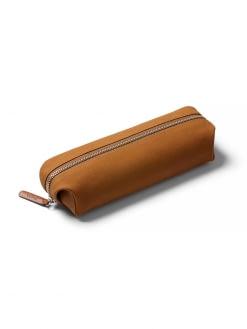 Bellroy Bellroy Pencil Case Plus Leather Nubuck Tan