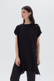 Shopatvelvet Mind top Black