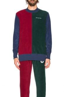 Aime Leon Dore Polar Fleece Blocked Sweatshirt