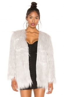 Lioness Portofino Faux Fur Coat