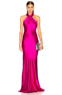 GALVAN Silk Pandora Dress