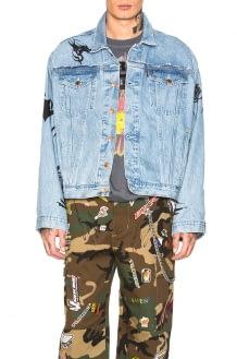 Vetements Tribal Oversized Denim Jacket