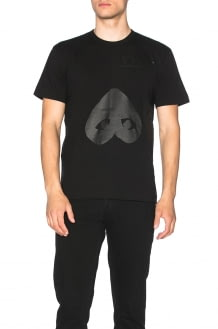 Comme Des Garcons PLAY Flipped Heart Cotton Tee