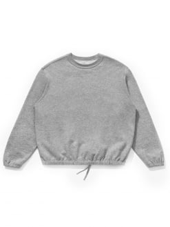 Lady White Co. Lady White Co. Sport Crewneck Heather Grey