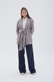 Shopatvelvet Alps Kimono Houndstooth