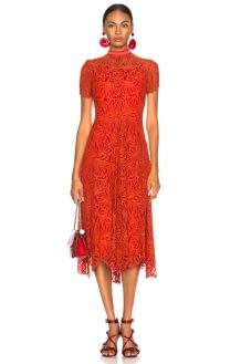 Proenza Schouler Mock Turtleneck Dress