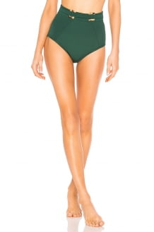Suboo Jungalow Belted High Waisted Bikini Bottoms