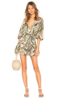 Suboo Palma Wrap Mini Dress