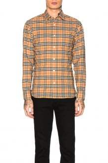 Burberry George Small Scale Checkered Flannel