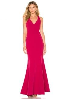 aijek Camille Fishtail Dress