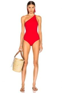 Oscar de la Renta One Piece Swimsuit
