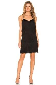 1. STATE Fringe Slip Dress