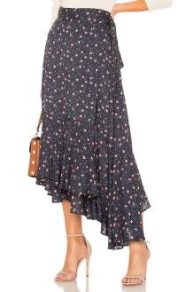APIECE APART Rosita Wrap Skirt