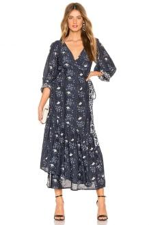 APIECE APART Bougainvillea Wrap Dress