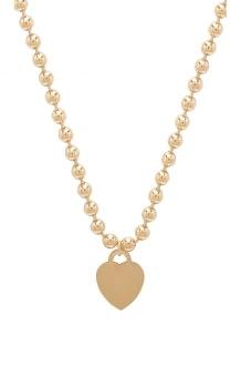 Vanessa Mooney The Boss Heart Necklace