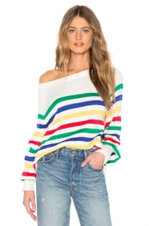 Central Park West Frascati Pullover Sweater