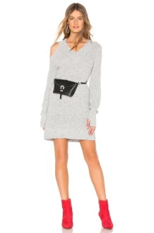 Marled x Olivia Culpo Cut Out Sweater Dress