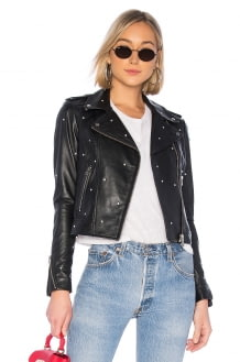 LAMARQUE Donna Glam Leather Jacket
