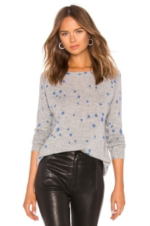 Autumn Cashmere Star Print Sweater