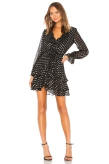 Bardot Spot Shirt Dress