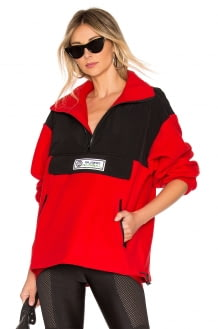DANIELLE GUIZIO Pullover Fleece Jacket