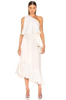 Stella McCartney One Shoulder Dress